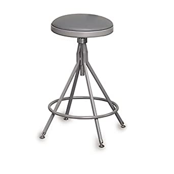 New Garage Stool with Backrest