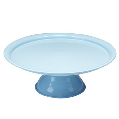- Red Pomegranate 9503-6 Collection Vento Footed Plate, One Size, Turquoise