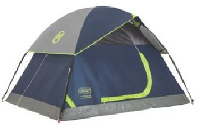Coleman  2-Person Sundome Tent, Navy (4-Pack) -  2000024579