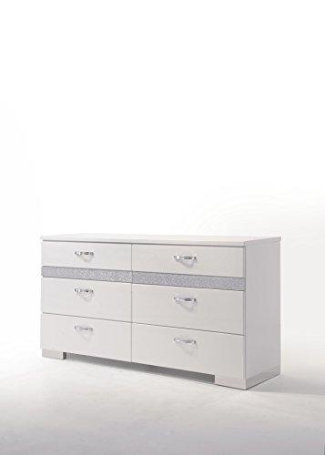 Acme Furniture 26775 Naima II Dresser, White