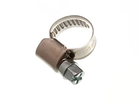 pack of 3 HOSE CLAMP JUBILEE CLIP 12MM 20MM SS STAINLESS STEEL
