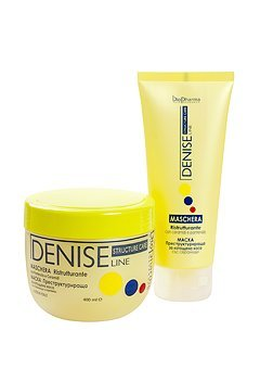 Denice Line Restructuring Mask with Ceramids and Panthenol for damaged hair by BioPharma 400ml