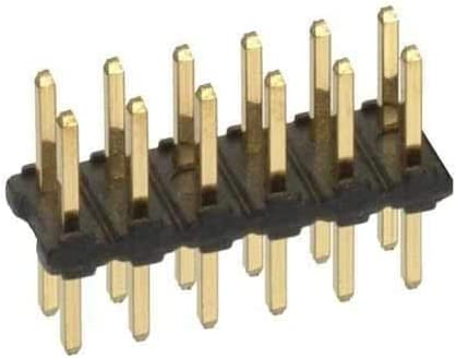 Pack of 40 Harwin Headers /& Wire Housings 17+17 DIL PIN HDR TIN VERTICAL