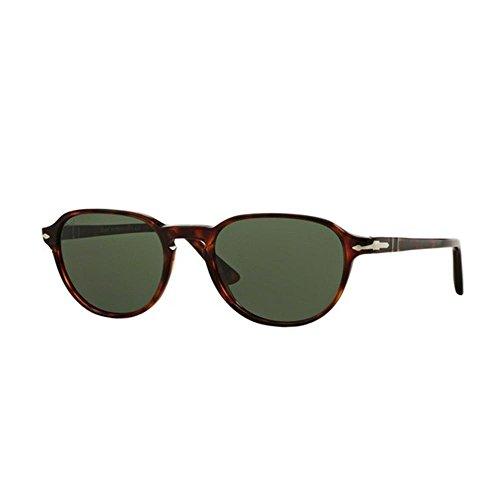 sol Persol Green Havana 52 901531 de Marrón Gafas Hombre 0Po3053S qCYwqA