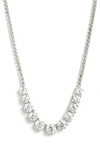 Nadri. Women's Crystal Silver Necklace for sale  Delivered anywhere in USA