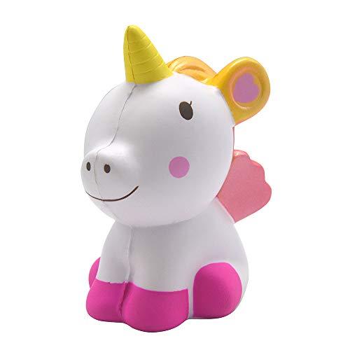 (Kiibru Slow Rising Squishies Rainbow Unicorn Jumbo Squishy Cartoon Boy Gril Toys)