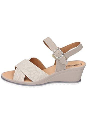 Grösse Beige Sandale 710827 Comfortabel 8 42 Damen SqEwfv76Xx