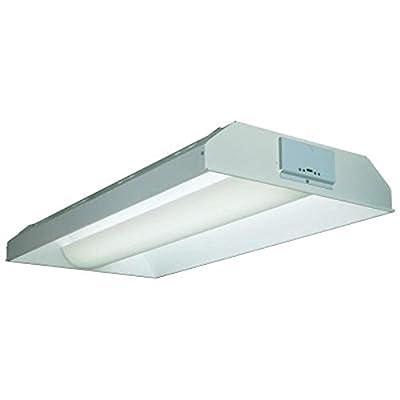 Lithonia Lighting 2AV G 3 32 MDR MVOLT 1/3 GEB10IS 3-Light Fluorescent Architectural Troffer, White