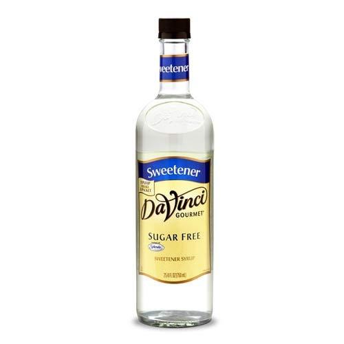 Flavored Simple Syrup - DaVinci Gourmet Sugar-Free Flavored Syrups Simple Syrup Sweetening 750 mL