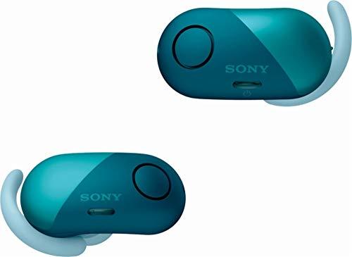 Sony SP700N Wireless Noise Canceling Sports in-Ear Headphones Blue WF-SP700N/L