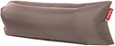 lamzac Fatboy 2.0 Sofá Inflable | Gris Topo | Sillón Hinchable con Relleno de Aire | Apto para Uso Exterior | 200 x 90 x 50 cm