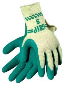Atlas Garden Grip Gloves Latex Large Carded