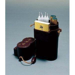 お墓参りの必需品 御燈香セット 花筒