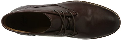 Clarks Montacute Duke Herren Kurzschaft Stiefel Braun (Chestnut Leather)