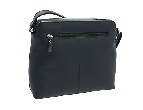 Ac8200 Ashlie Leather Navy grey Navy Style ac red Bag Craft Shoulder xPPqCwXr
