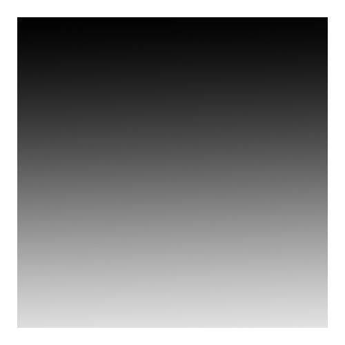 "Flotone Vinyl Graduated Background 43"" X 67"" Black to White #609"