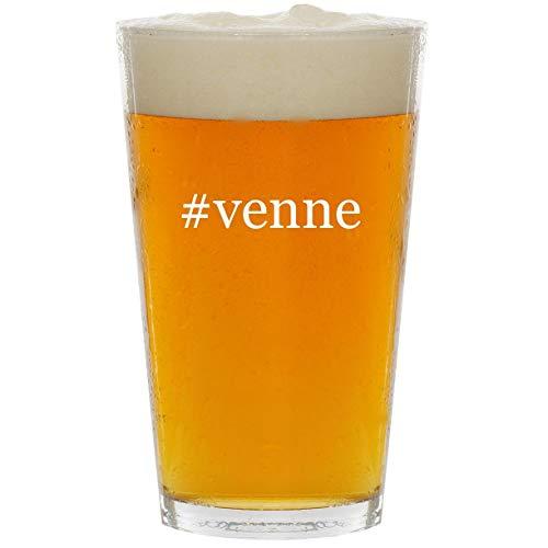 #venne - Glass Hashtag 16oz Beer