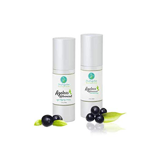 Ageless Skin Care Kit Anti-Aging Serum & Moisturizer Lifts, Firms, Wrinkle Relaxing High Potency Beauty Cream Ten's Up, Matrixyl S-6, Adipofill, Haloxyl, Syn-Coll, Syn-Ake, Snap 8 Skin Perfection