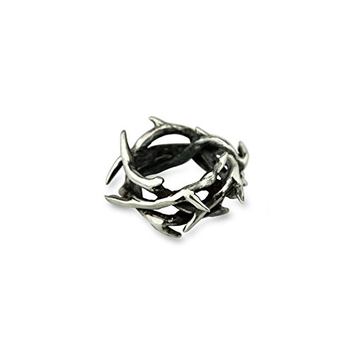 Ohm Beads Sterling Silver Crown of Thorns Bead Charm
