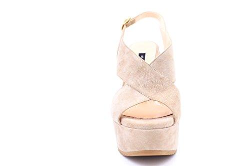 ALBANO - Sandalias de vestir de Piel para mujer blanco Bianco 38 Beige