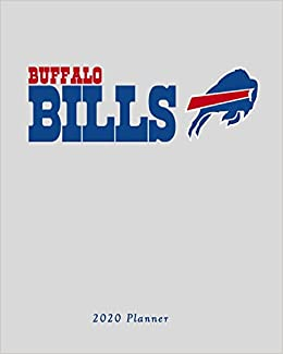 Buffalo Bills Schedule 2020.Buffalo Bills 2020 Planner Calendar Agenda Daily Monthly