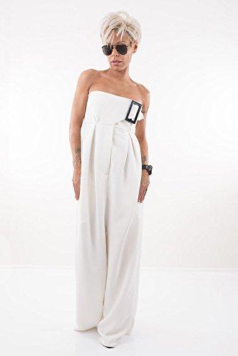 Amazoncom Lockerroom Women Harem White Plus Size Jumpsuit Handmade