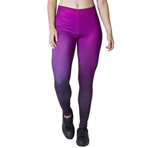 Calça Feminina Legging Sublimada Linhas Aspirais