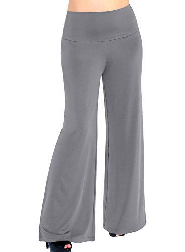 Arolina Women's Stretchy Wide Leg Palazzo Lounge Pants (Color 1,S) ()
