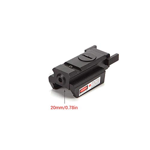 (Yeawooh Mini Laser Sight Red Beam, Airsoft Riflescope for Gun Rifle Gun )