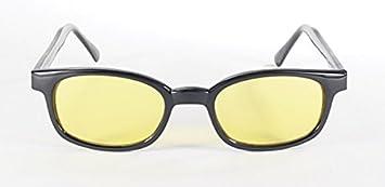 KDS Gafas de sol originales X-Kd es amarillo 10112 - Large Negro