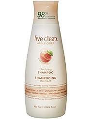 Live Clean Apple Cider Detox Shampoo, 12 Oz
