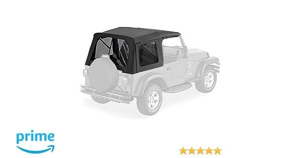 8d3c0ee6 Amazon.com: Bestop 54709-35 Black Diamond Supertop Classic Replacement Soft  Top w/ Tinted Windows for 1997-2006 Jeep Wrangler (except Unlimited):  Automotive