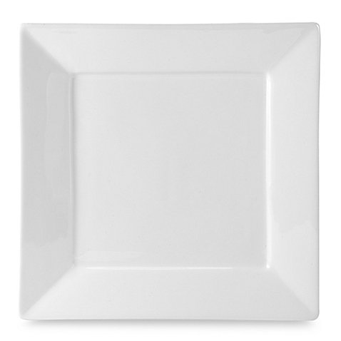Everyday White® by Fitz and Floyd® Rim Square Dinner Plate by Product Everyday White
