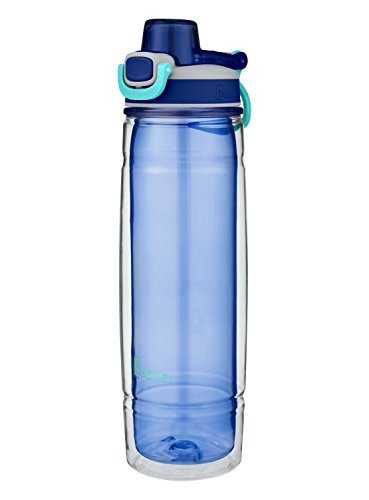 Bubba Flo Duo Refresh Insulated Water Bottle, 24 oz, Bold Blue