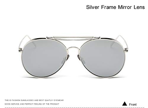 Leopard Mirror Stillar de C4 Black Lens Soleil Homme Silver Lunettes Yv8YrH