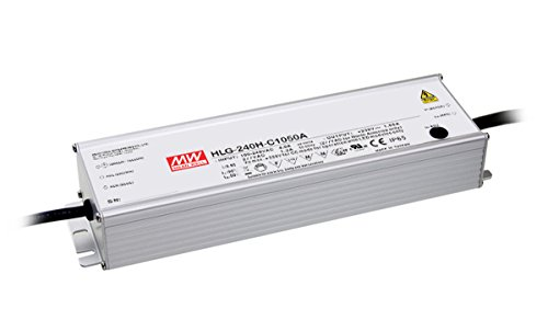 MW Mean Well HLG-240H-C1750B 143V 1750mA 250.25W Single Output Switching LED Power Supply with PFC by MEAN WELL