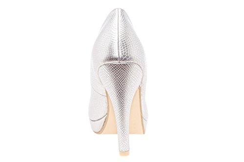 Sandales Andres Machado Femme Silver Compensées Engraved qv5xBgvr