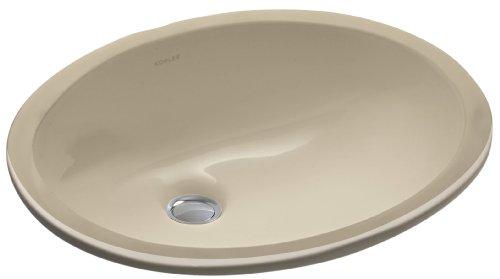 KOHLER K-2209-33 Caxton Undercounter Bathroom Sink, Mexican Sand