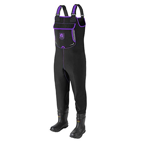 Gator Waders Womens Retro Neoprene Waterproof Waders with Boots