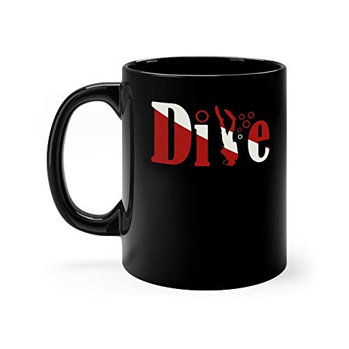 Used, Scuba Diving Dive into the Deep Sea Diver 11 oz Black for sale  Delivered anywhere in USA