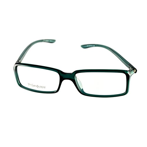 Yves Saint Laurent Eyeglasses YSL 2101 8H5 Dark Green 54-15-130 Made in Italy