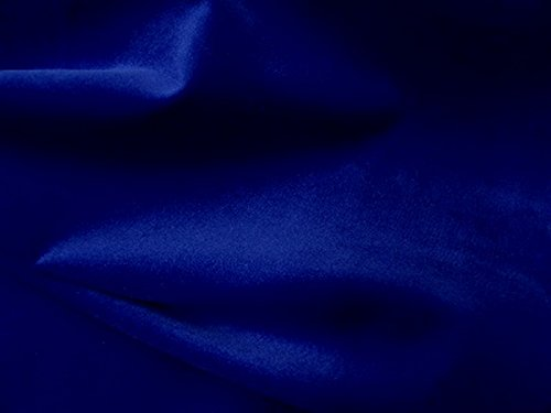 SyFabrics 100% Cotton Velvet Fabric 56 inches Wide Royal Blue ()