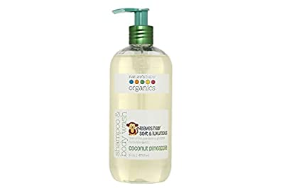 Nature's Baby Organics Shampoo & Body Wash(Pack of 2)