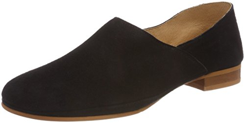 New Mujer Points para Black Ten Toulouse Mocasines Schwarz FTS7nqUW