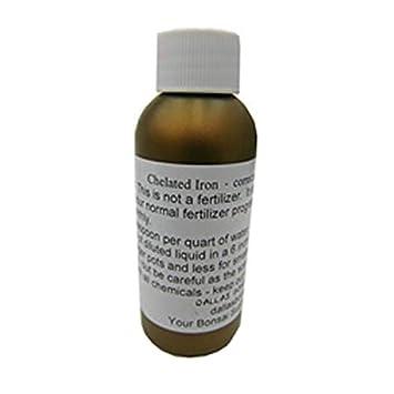 Amazon com : Dallas Bonsai Chelated Iron - 2oz Bottle : Garden & Outdoor
