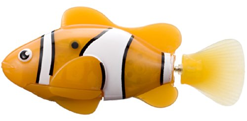 Robo Fish (Orange and White/Clown Fish)