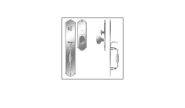 Laforge TRIM 2817 Laforge Entrance Handle Set   Door Handles   Amazon.com