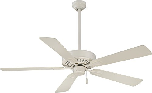 Minka-Aire F556-BWH, Contractor Plus Bone White Energy Star 52 Ceiling Fan