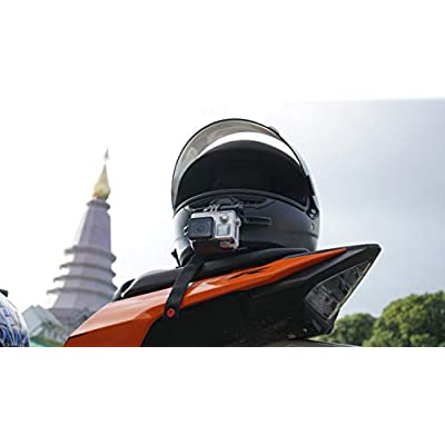 MotoRadds Universal Motorcycle Helmet Chin Mount for GoPro (Compatible with Ruroc Helmet): Sports & Outdoors