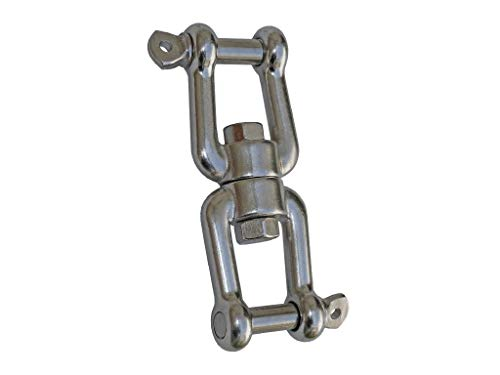 "Five Oceans Swivel Double Shackle 5/16"" FO-471 primary"